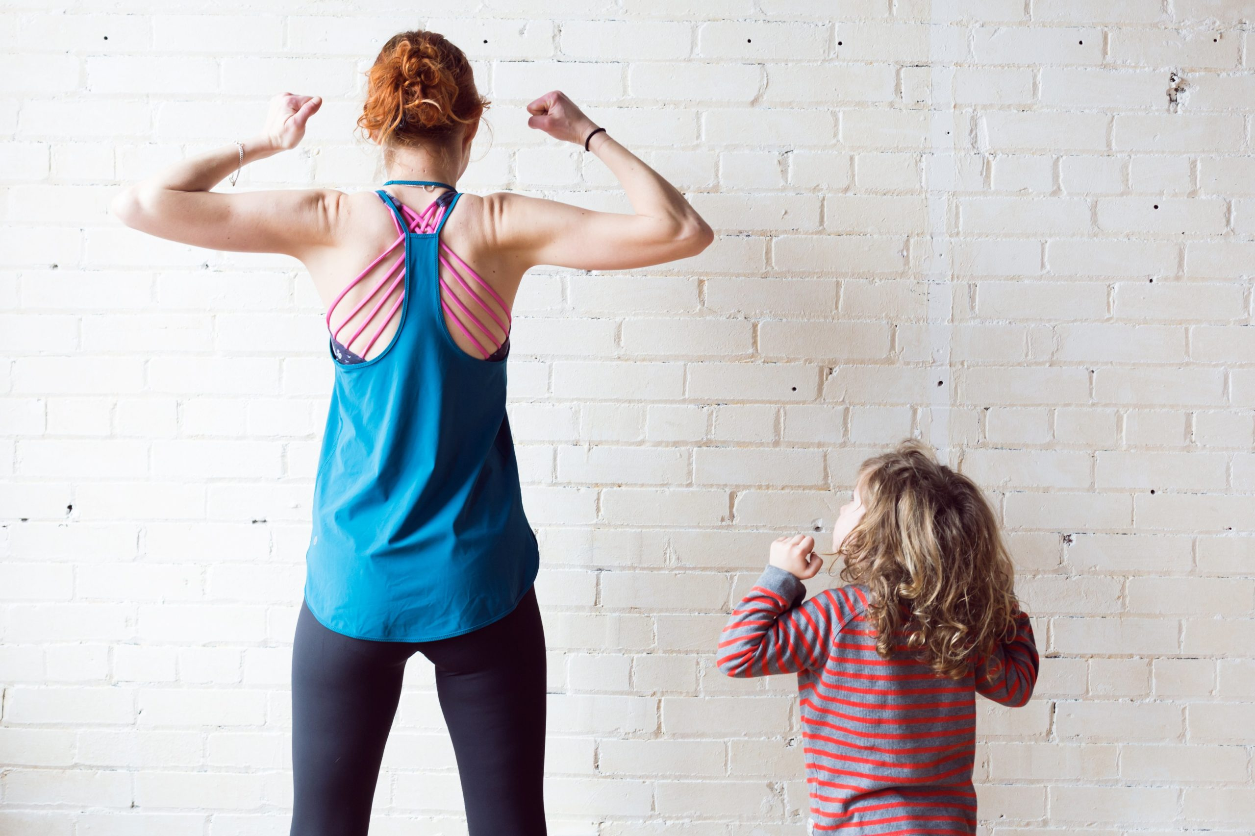 woman-and-boy-muscle